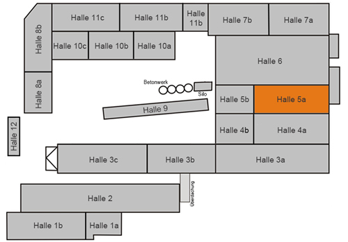 Lageplan - Halle 5a